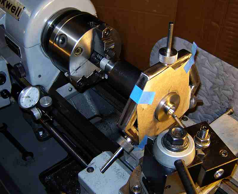 Trueing the Spindle Taper